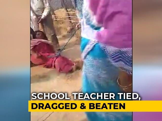 Video : Bengal Woman Teacher, Sister Tied, Dragged. Trinamool Leader Led Assault