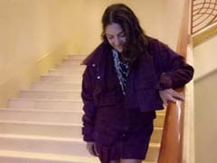 Neena Gupta Rocks A Frock Again. This Time, Styled With A <I>Satlada</i> Necklace