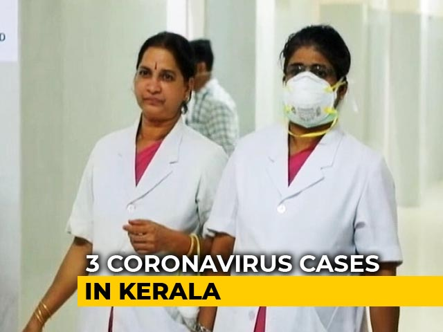 "Video : Kerala Declares Coronavirus As ""State Calamity"" After 3 Test Positive"