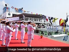 Union Minister Commissions Coast Guard's Offshore Patrol Vessel