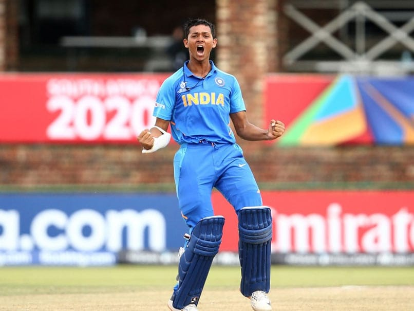 Under-19 World Cup: Yashasvi Jaiswal Slams Ton As India Thrash Pakistan To Book Final Berth