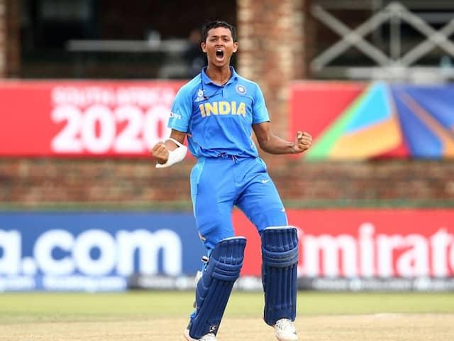 Under-19 World Cup: Yashasvi Jaiswal Slams Ton As India Thrash Pakistan To Book Final Berth