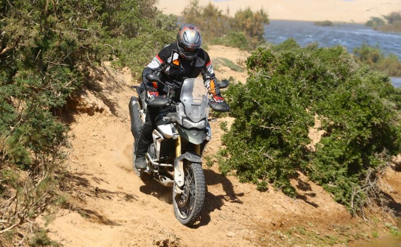 Riding tiger 900 on tough terrain