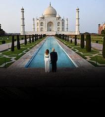 Trump Didn't Visit Original Graves At Taj Because Of His Height