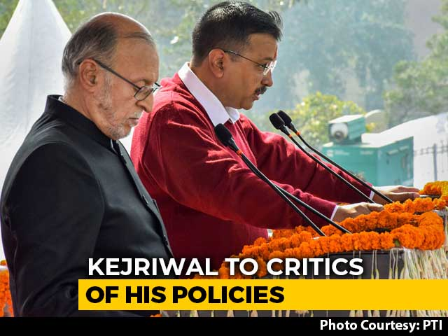 'God's Precious Things Free': Arvind Kejriwal To Critics Of His Policies