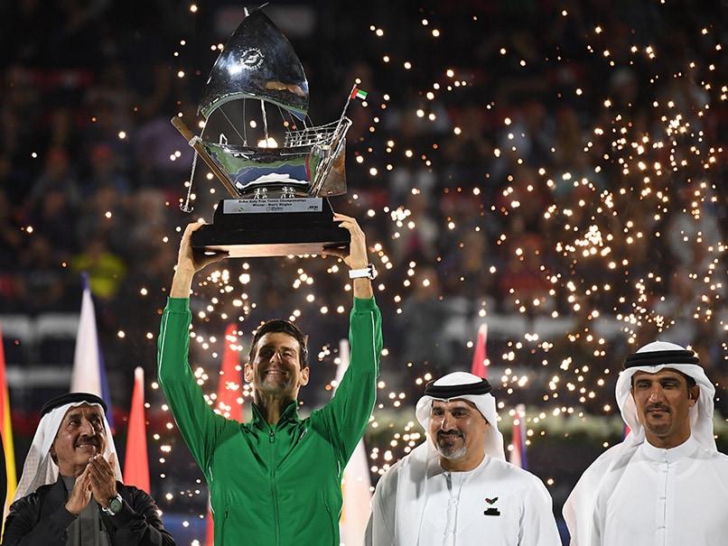 Novak Djokovic Dominates Stefanos Tsitsipas To Win 5th Dubai Trophy, 79th Career Title