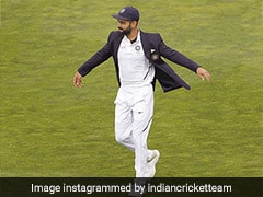 BCCI Asks Fans To Caption Kohlis Picture, Iyer Wipes Out The Challenge