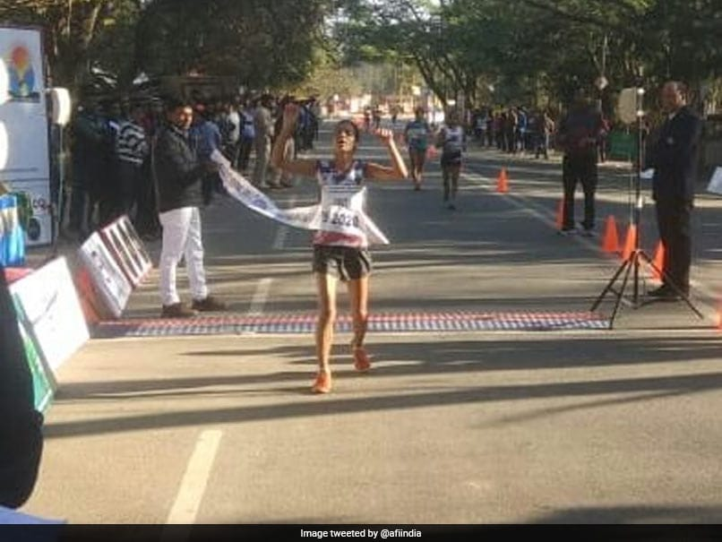 Bhawana Jat Shatters 20Km Race Walk National Record To Secure Tokyo Olympics Spot