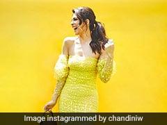 Jacqueline Fernandez Spreads Spring Love In A Yellow Off-Shoulder Dress