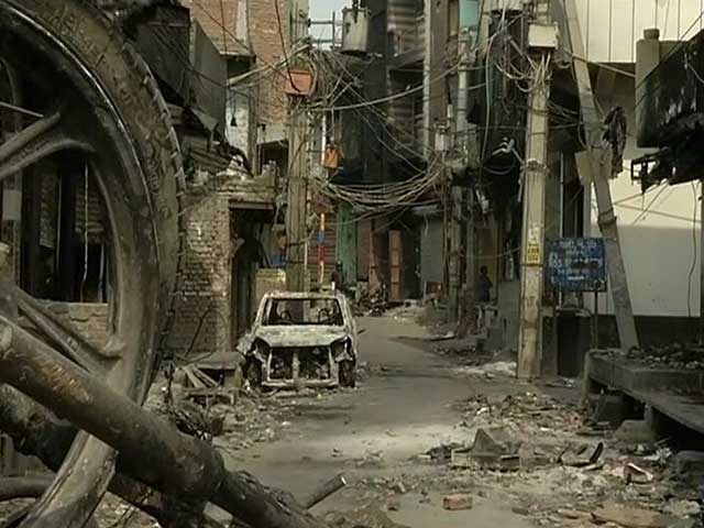 Video : Worst Affected In Delhi Clashes, Shiv Vihar Resembles A Ghost Town
