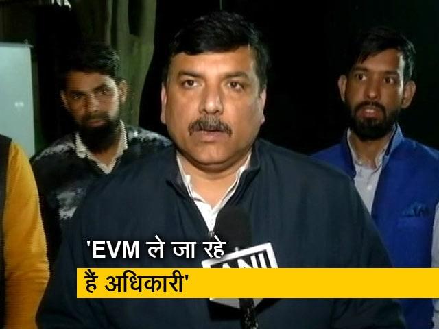Videos : Delhi Election 2020: एग्जिट पोल्स के बाद AAP ने कहा- EVM की करेंगे पहरेदारी