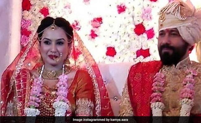 Trending: Inside Pics From Kamya Panjabi And Shalabh Dang's Fairy-Tale Wedding