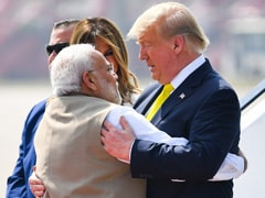 """<i>Namaste</i> Trump"": After Hug, PM Modi, US President's Grand Roadshow"