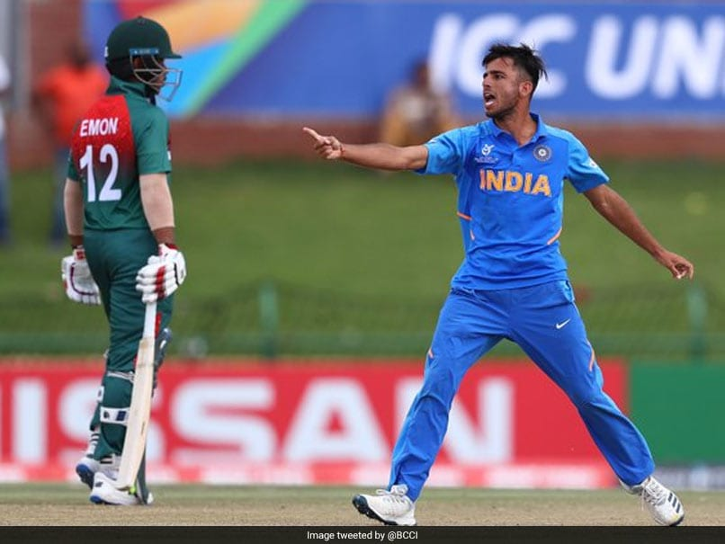 """""""Disgusting, Disgraceful"""": Former India Captain Fumes At Under-19 Team For Their Behaviour In World Cup Final"""