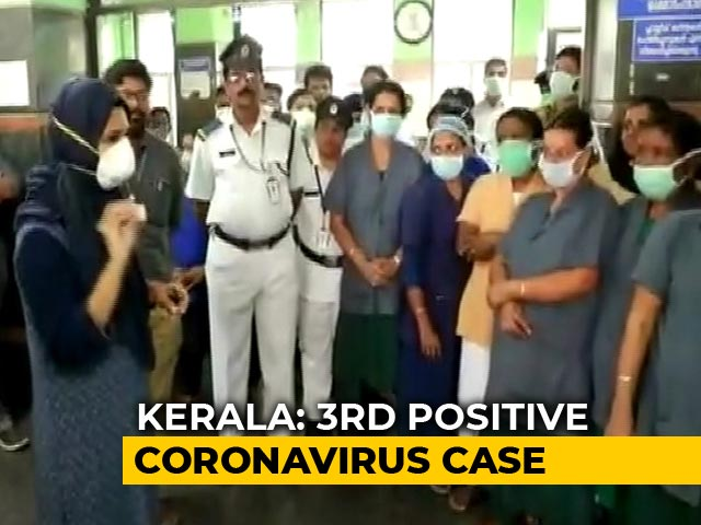 Video : 3 Cases Of Coronavirus In Kerala; All Students Who Returned From China