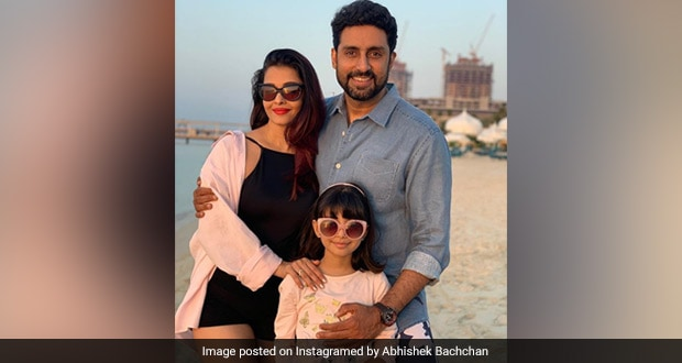 Happy birthday baby: Aishwarya Rai on hubby Abhishek's special day