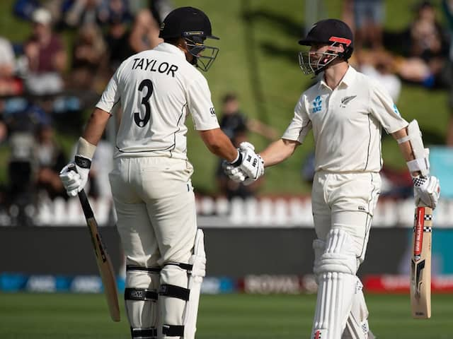 NZ vs IND, 1st Test Day 2: Kane Williamson-Ross Taylor Stand Puts New Zealand In Drivers Seat Against India