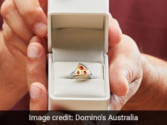 Domino's Creates Diamond-Encrusted Pizza Ring. How You Can Win It
