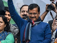 "How Ramlila Maidan Is Prepping For ""Delhi's Son"" Arvind Kejriwal's 3rd Oath"