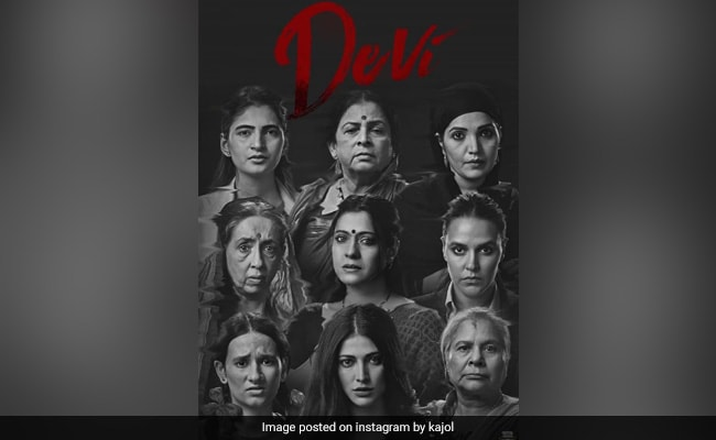 Devi Poster: Kajol And Sisterhood Are Fierce And Fearless thumbnail
