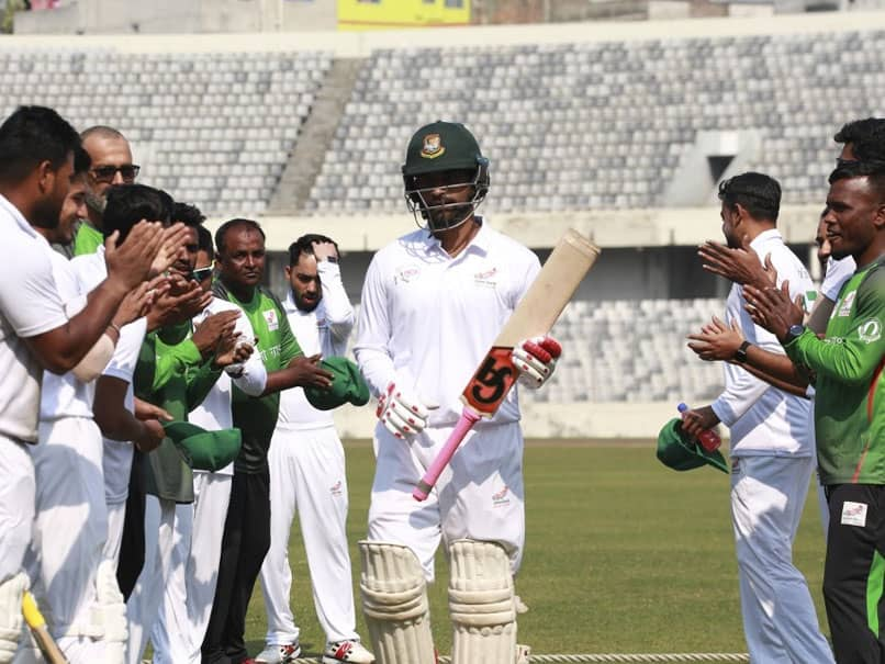 Bangladeshs Tamim Iqbal Warms Up For Test Return With Record Triple Ton