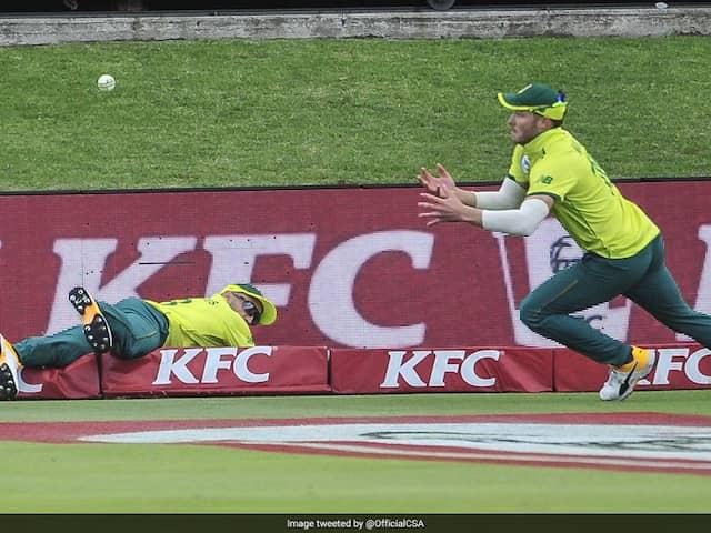 Faf  Du Plessis and David Miller team up for superb catch, Watch Video