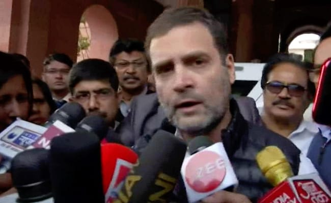 'Shocked By Deaths Of My Brothers': Rahul Gandhi On Migrants Hit By Train