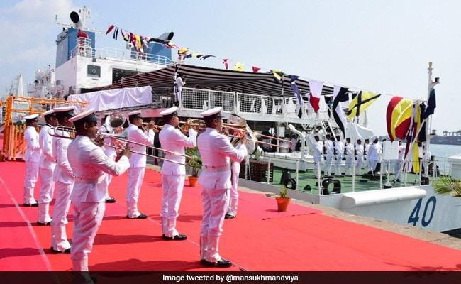 Union Minister Commissions Coast Guard's Offshore Patrol Vessel 'Varad'
