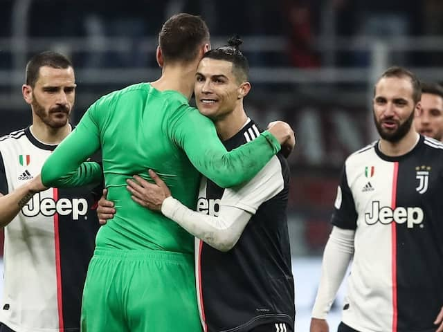 Cristiano Ronaldo Penalty Snatches Juventus First-Leg Draw At AC Milan