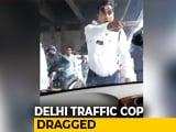 """Video : Delhi Cop Taken """"Hostage"""" On Car Bonnet For 2 Kms, Video Goes Viral"""