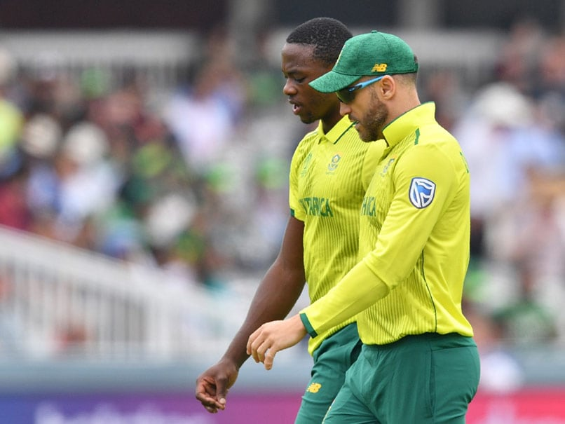 Du Plessis, Rabada Return To South Africa Squad For Australia T20Is