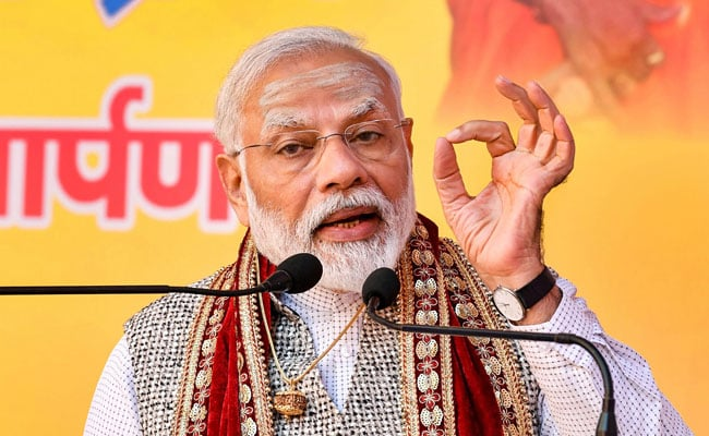 PM Modi's Advice To Top Cops On Incidents Affecting 'Vulnerable Sections'
