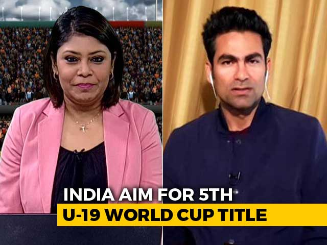 Video : Mohammad Kaif Says U-19 Players Should Not Be Fast-Tracked To Senior Team
