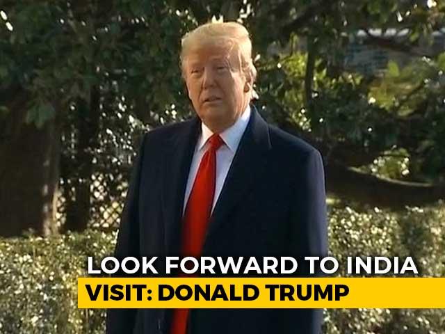 "Video : ""PM Modi Is A Friend Of Mine"": Donald Trump Ahead Of India Visit"