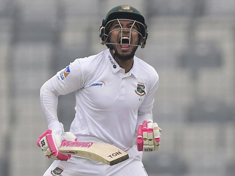 Bangladeshs Mushfiqur Rahim Hits Double Ton To Corner Zimbabwe