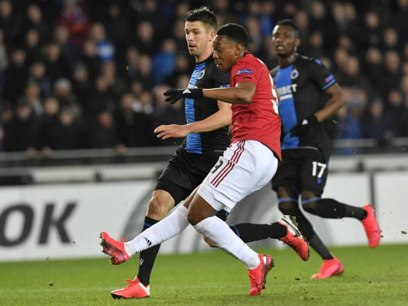 Europa League: Anthony Martial Grabs Key Goal As Manchester United Draw 1-1 Away To Club Brugge