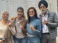 Taapsee Pannu Shuts Down Troll Who Questioned Why She Voted In Delhi: 'You're No One To Tell Me What I Should Do'