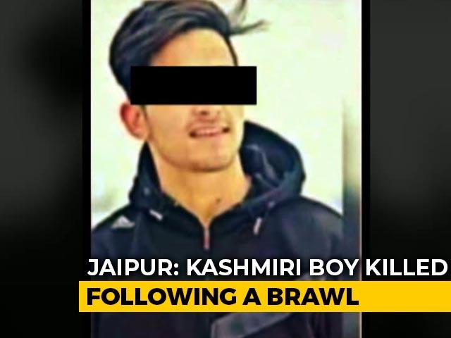 Video : Kashmiri Teen Dies In Jaipur After Brawl With Three From Mumbai