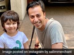 पंजाबी जूती पहन खुश हुए तैमूर अली खान, सलीम मर्चेंट के साथ फोटो खिंचाने को हुए तैयार- देखें Photo और Video
