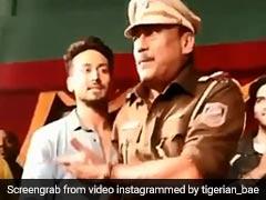 पुलिस वाला बन जैकी श्रॉफ ने दी फैन्स को चेतावनी, बोले- सयाणे लोग सुधर जाना...देखें Video