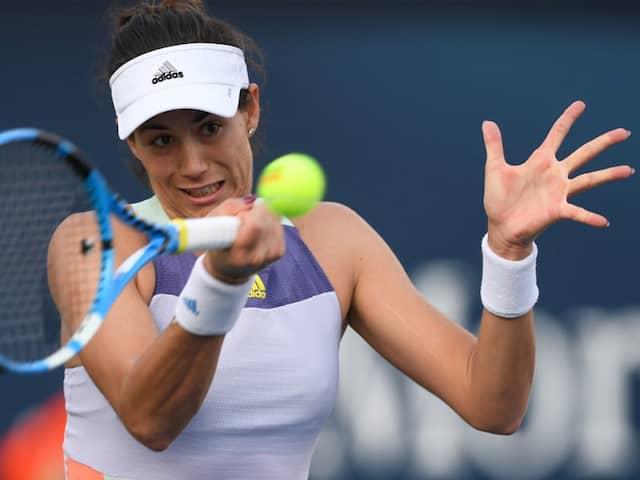 Dubai Championships: Garbine Muguruza Shocked By Qualifier Jennifer Brady