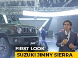 Video: Suzuki Jimny Sierra First Look | Auto Expo 2020