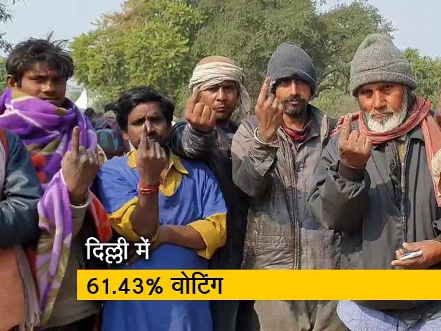 Videos : दिल्ली विधानसभा चुनाव में कई इलाकों में दिखी मतदान के लिए लंबी कतारें