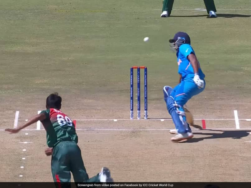 Bangladesh Bowler Nearly Hits Divyansh Saxena On His Head In U-19 World Cup Final. Watch