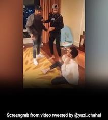 Watch: Chahal, Rohit Sharma, Khaleel Enact Funny Bollywood Scene