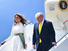 See Best Pics From Trump, Melania Visit: Big Hug, <i>Charkha</i> Moment, Dancing
