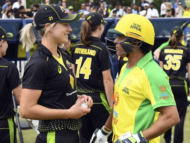 Watch: Sachin Tendulkar Comes Out Of Retirement To Face Ellyse Perry In Charity Bushfire Bash