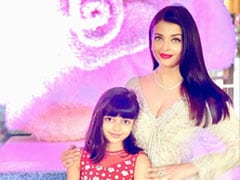 Aishwarya Rai Bachchan And Daughter Aaradhya Look Just Too Cute In This Pic