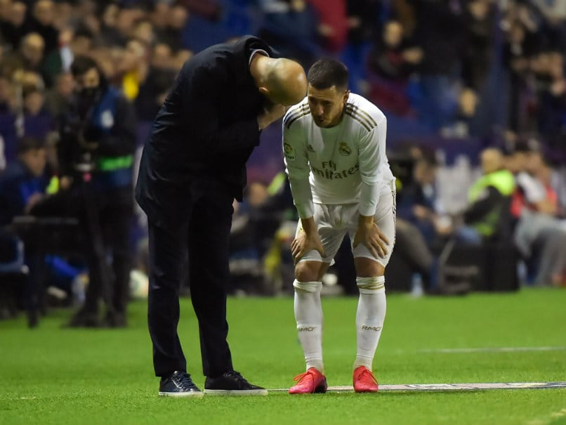 Levante vs Real Madrid: Real Madrid Suffer Shock Defeat, Eden Hazard Injured Again