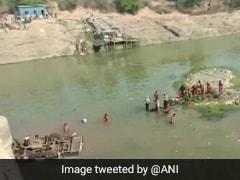 राजस्थान: बूंदी जिले में नदी में गिरी बस, 25 लोगों की मौत